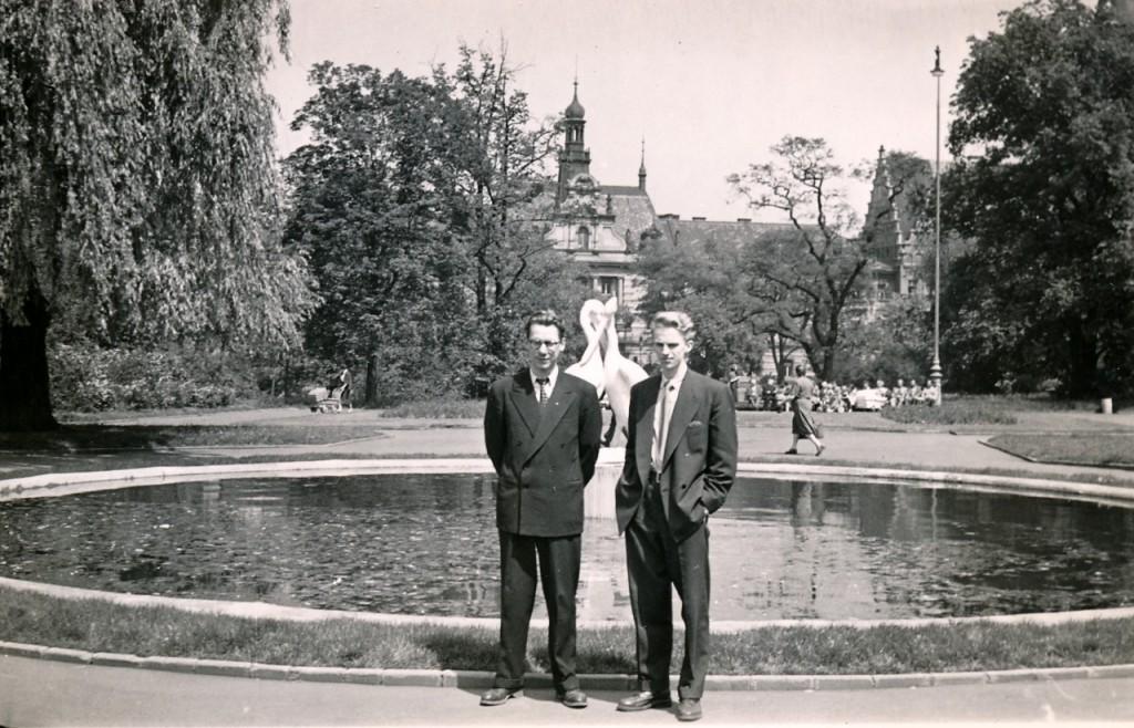 1954 Marienske Lazne - Guðmundur Pálmason og Friðrik