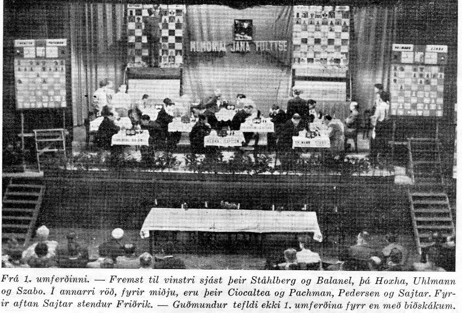 1954 Svæðakeppni - yfirlitsmynd