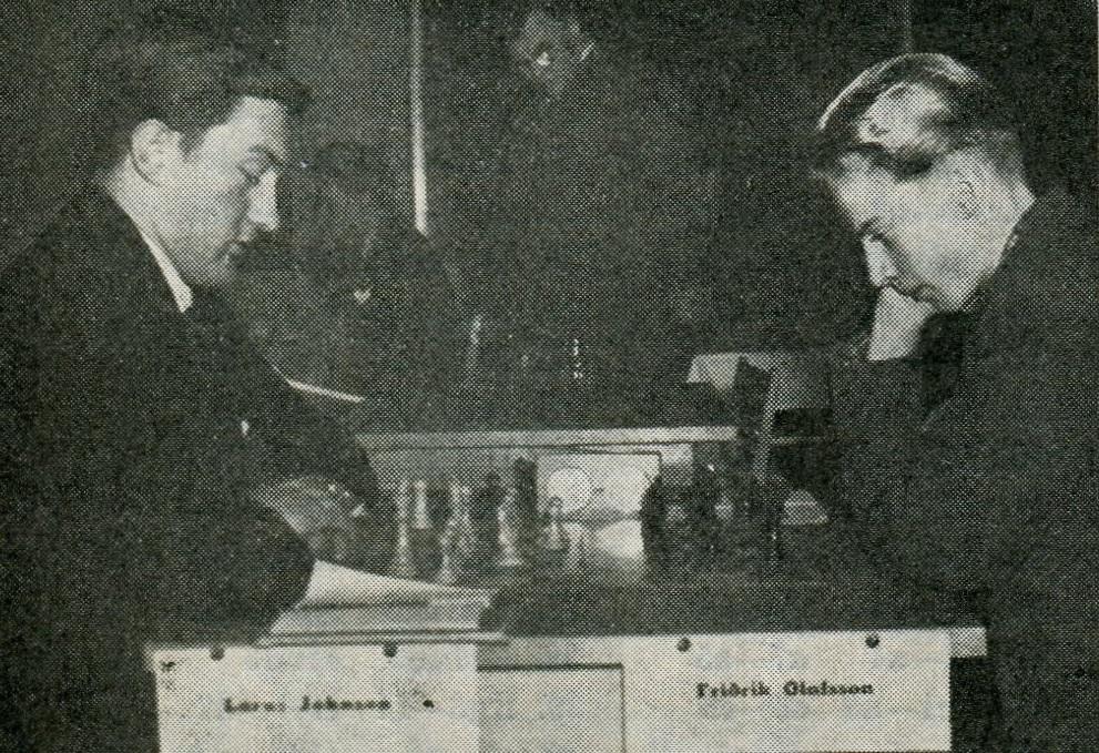 Lárus Johnsen - Friðrik Ólafsson