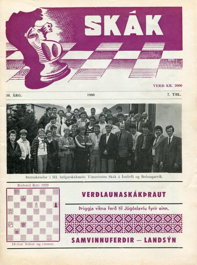 1980 Þriðja helgarmótið - kápumynd