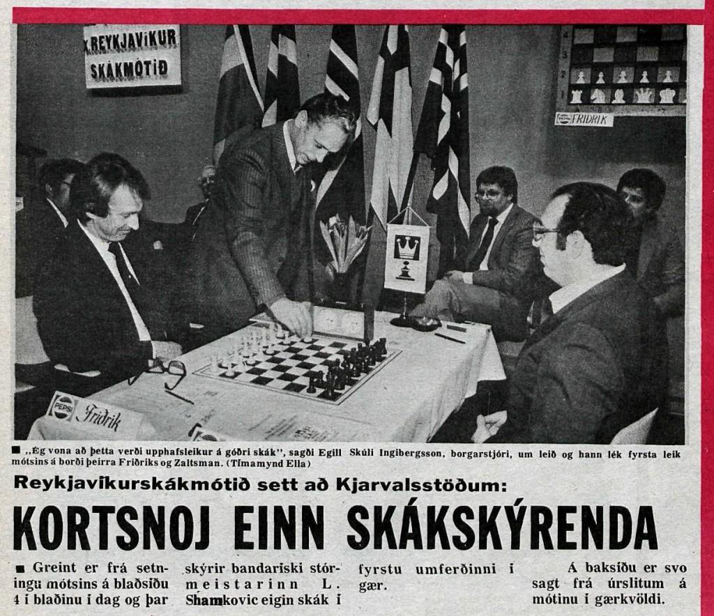 1982 Rvk úrklippa