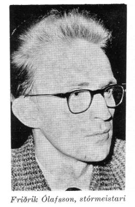 Friðrik Ólafsson, stórmeistari