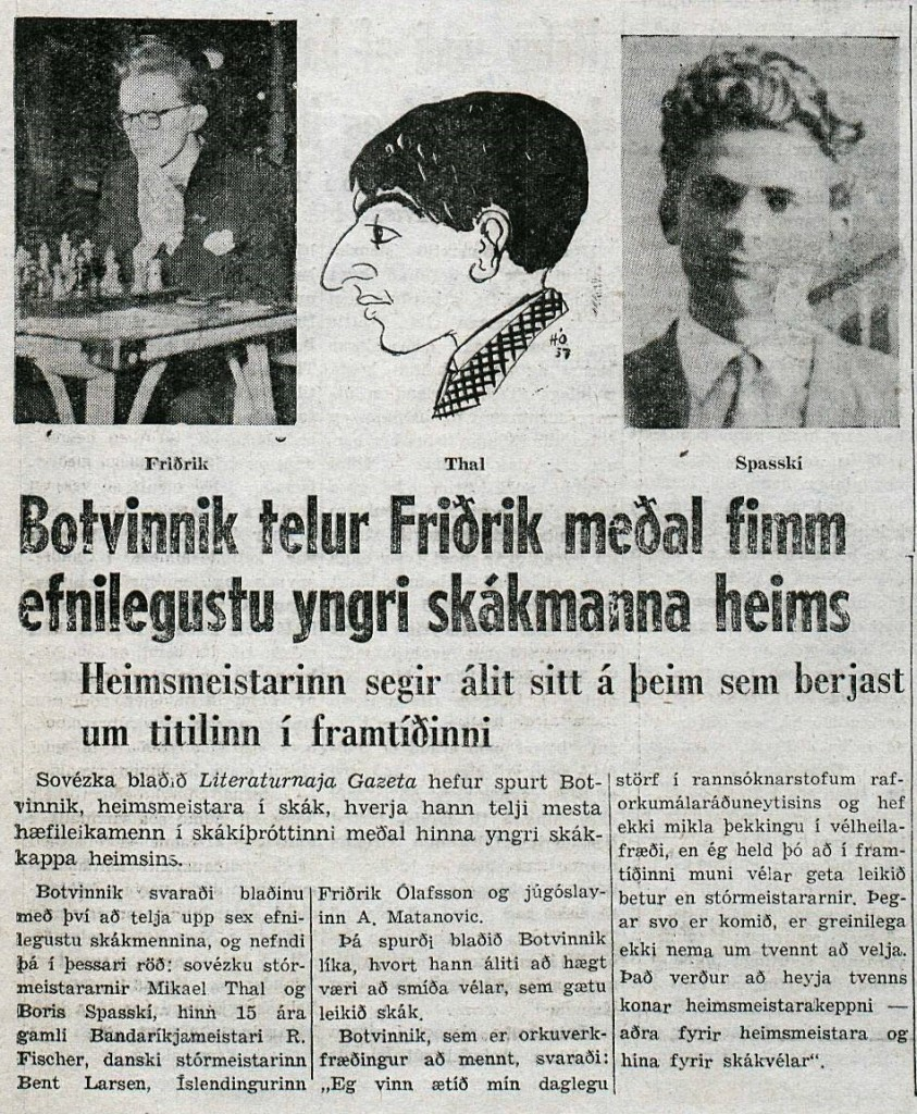 1958 Sarpurinn - Botvinnik
